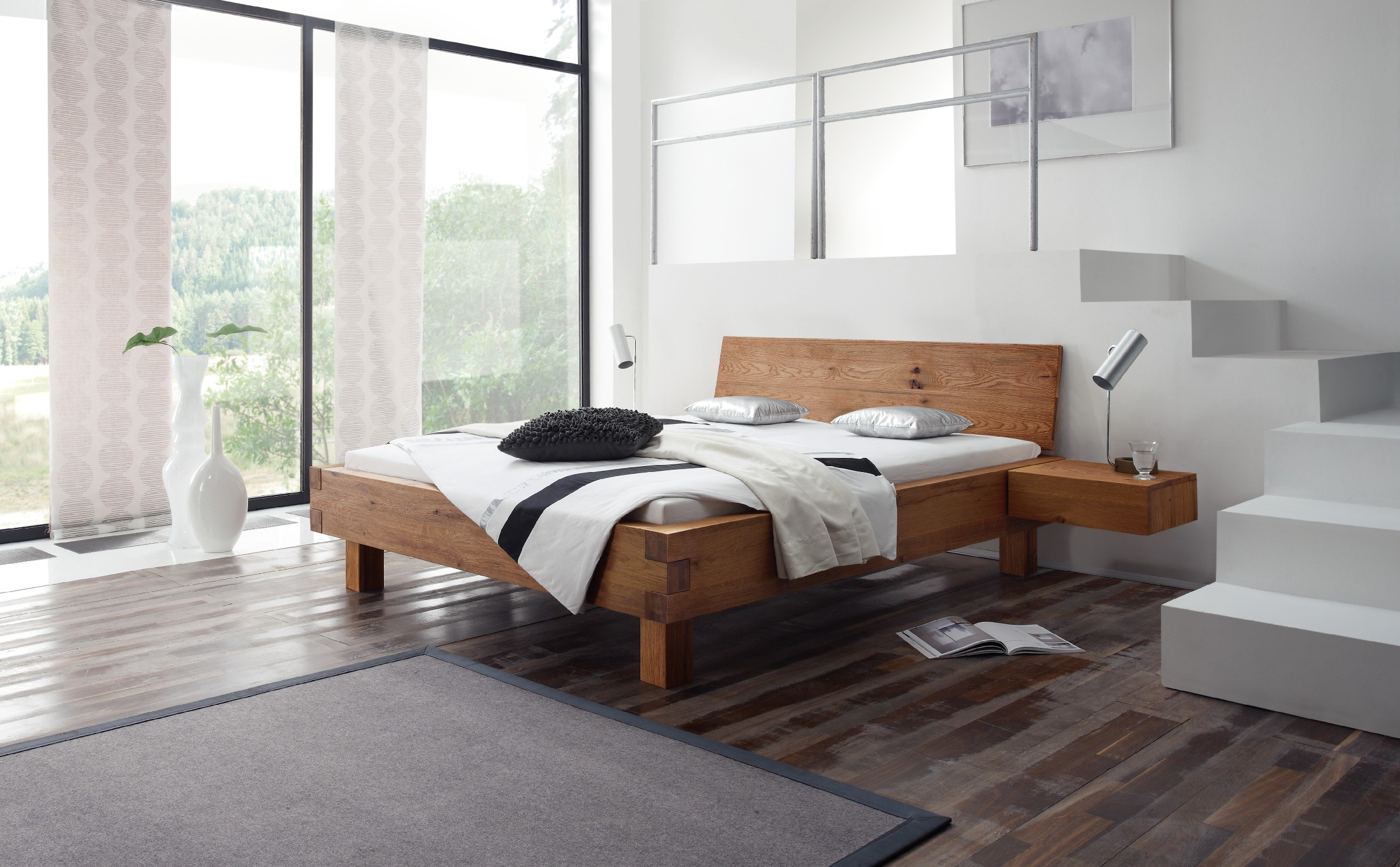 akzentmoebel unger shop bett hasena oak line wild pilatus 23. Black Bedroom Furniture Sets. Home Design Ideas