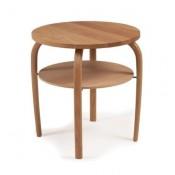 Conform Gazell Tisch Maße: Ø50cm H53cm Holz: Eiche geölt