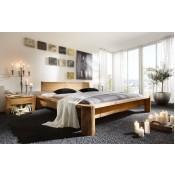 Massivholz-Bett Tundra - Jedes Bett ein Unikat!