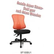 Topstar Sitness Create SF100BU1 Rücken: Netz BU1 Fußkreuz: Polyamid